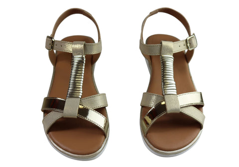 1752f1eec Lola Canales Gina Womens Comfortable Leather Sandals Made In Spain ...