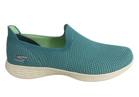 Skechers Womens You Zen Comfortable Lightweight Slip On Casual Shoes