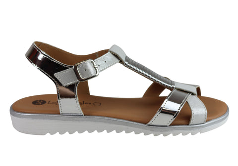 Lola Canales Gina Womens Comfortable Leather Sandals Made In Spain