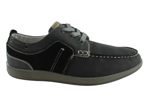 Hush Puppies Pitch Mens Lace Up Casual Shoes