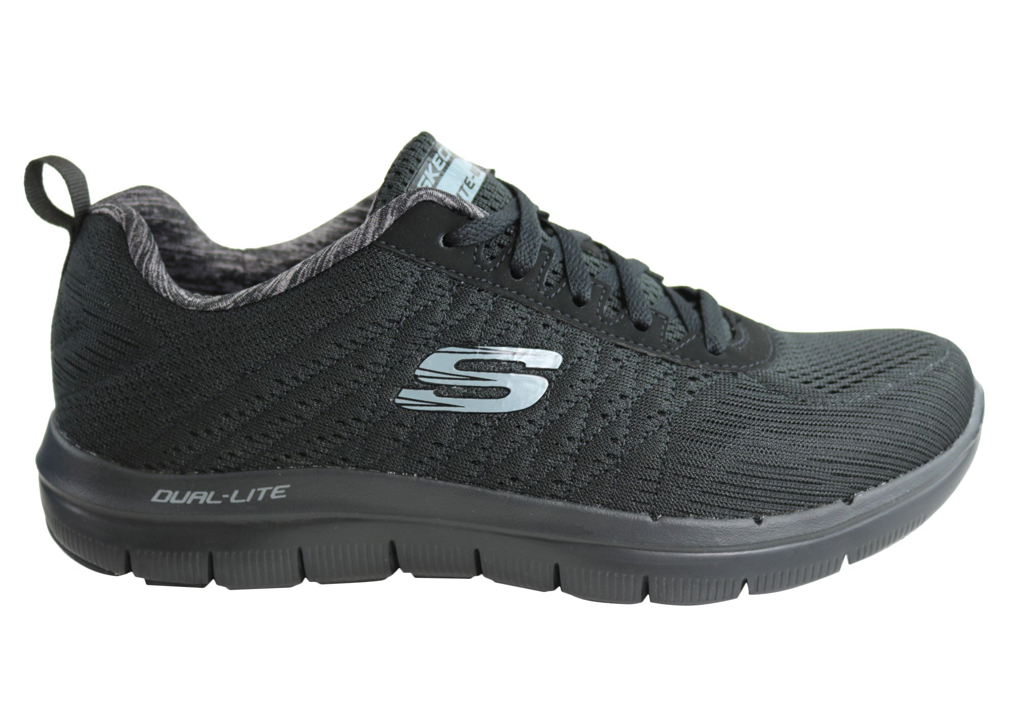 b975890cff73 Home Skechers Mens Flex Advantage 2.0 The Happs Memory Foam Sneakers. Black  ...