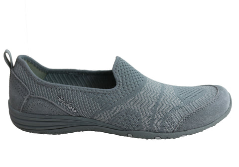 Skechers Womens Unity Moonshadow Slip On Memory Foam Shoes