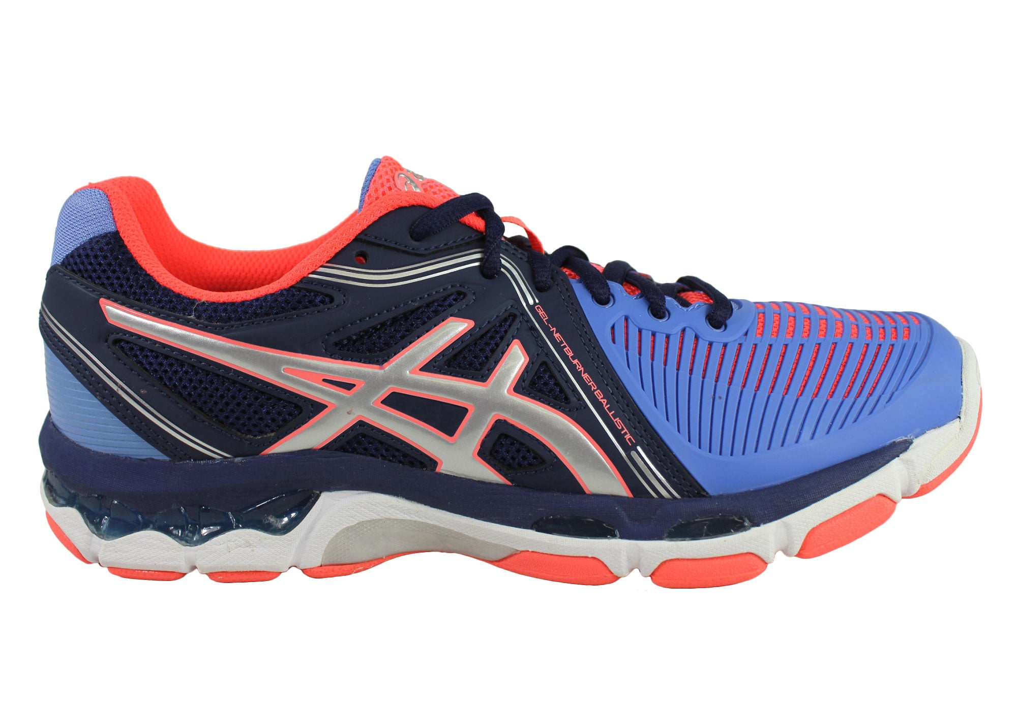 New Asics Gel-Netburner Ballistic Womens Netball Shoes  ea4fdc60070b