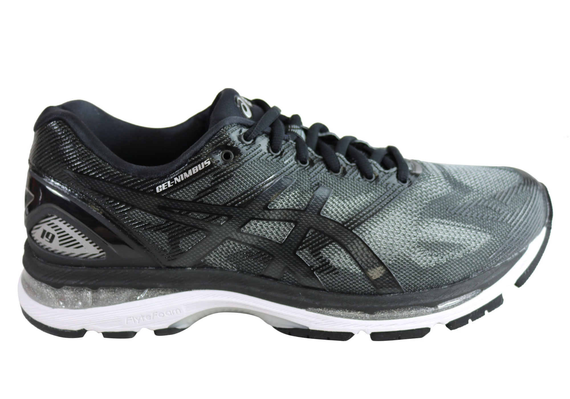 best sneakers 5530b 5be82 Asics Gel-Nimbus 19 (4E Width) Mens Premium Cushioned Running Shoes