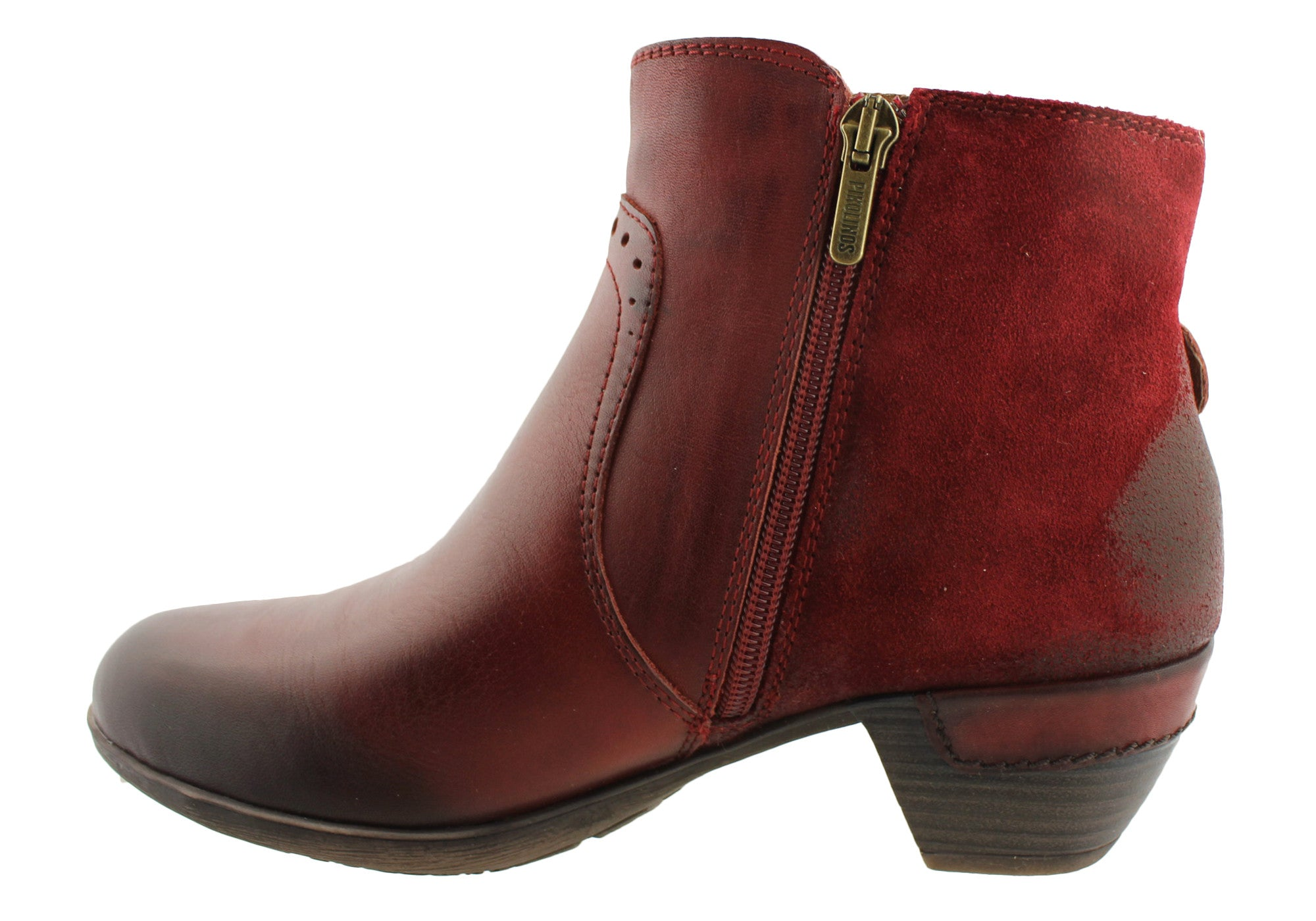 Pikolinos 902-9945 Womens Leather Ankle Boots