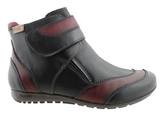 Pikolinos Womens Leather Ankle Boots Made in Spain