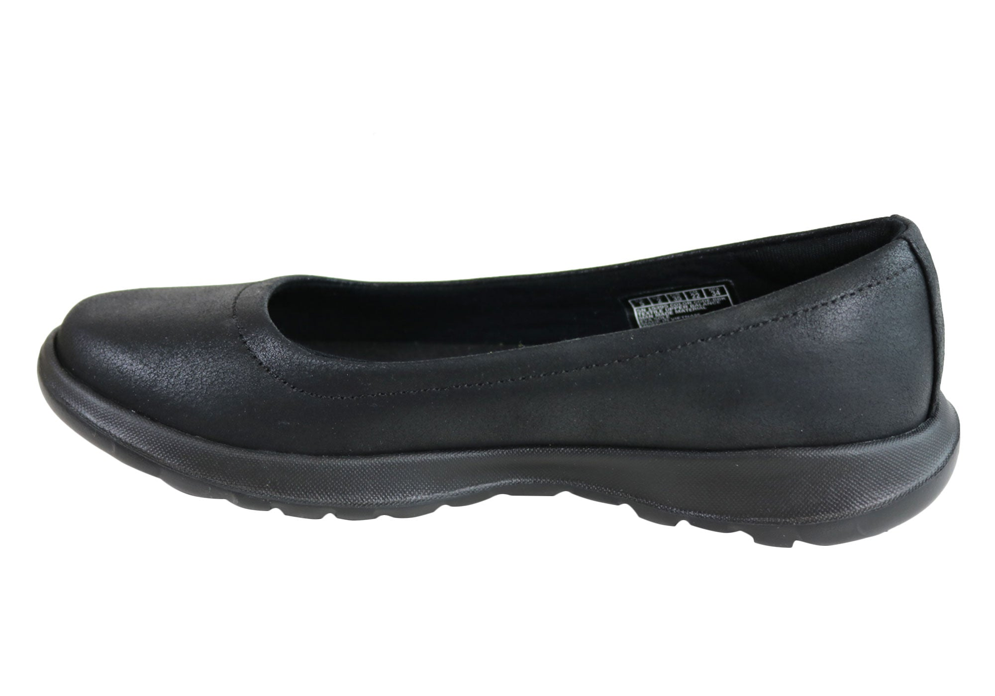 81c7afaed4f Home Skechers Womens Go Walk Lite Gem Comfort Cushioned Ballet Flat Shoes.  Black · Black · Black · Black ...