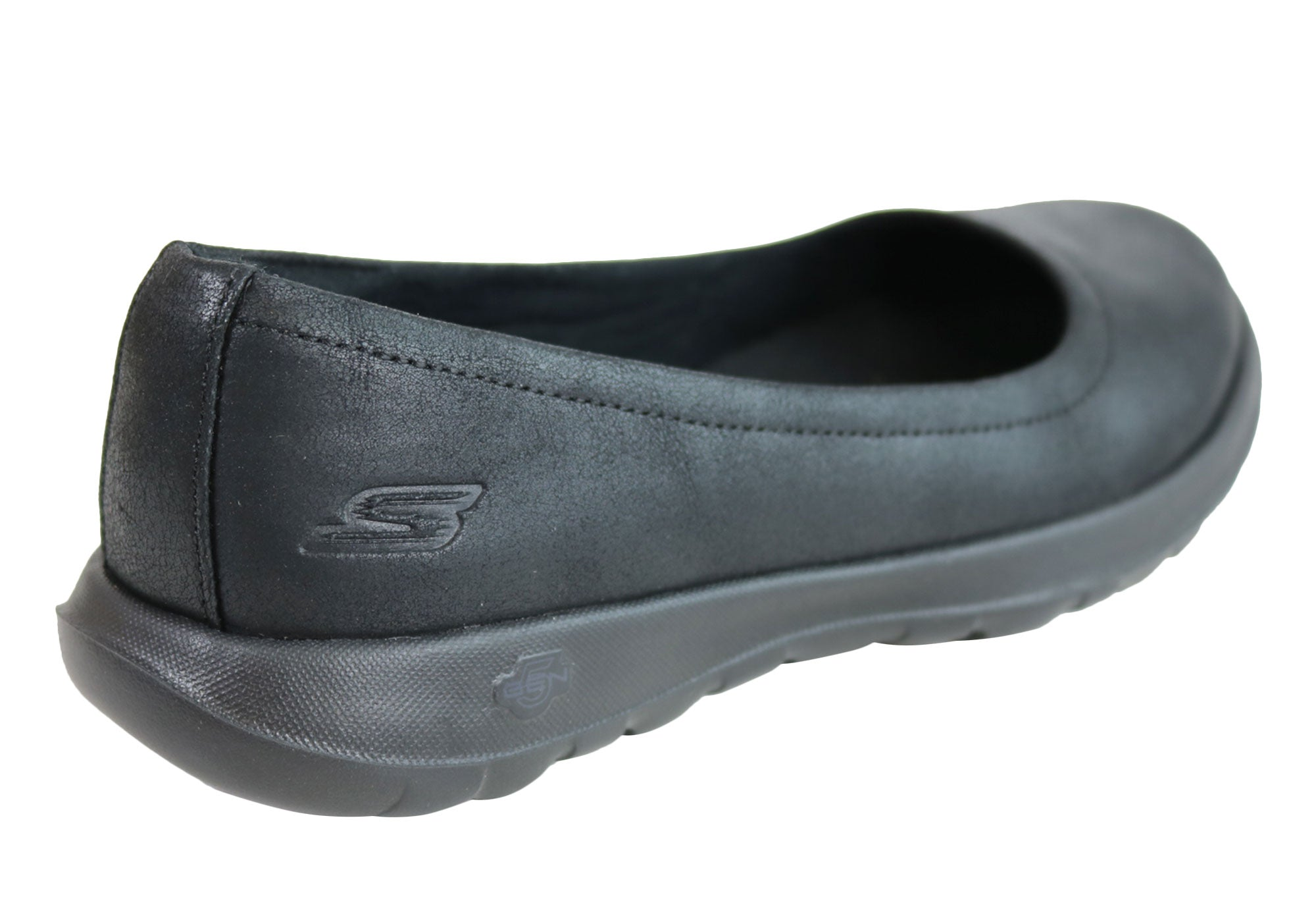 cc2ed9d96a6 Home Skechers Womens Go Walk Lite Gem Comfort Cushioned Ballet Flat Shoes.  Black · Black · Black · Black · Black ...