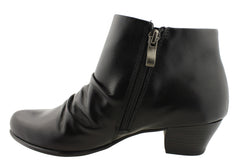 Gino Ventori Toronto Womens Leather Ankle Boots