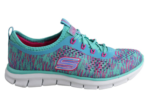 Skechers Glider Deep Space Girls/Kids Slip On Shoes