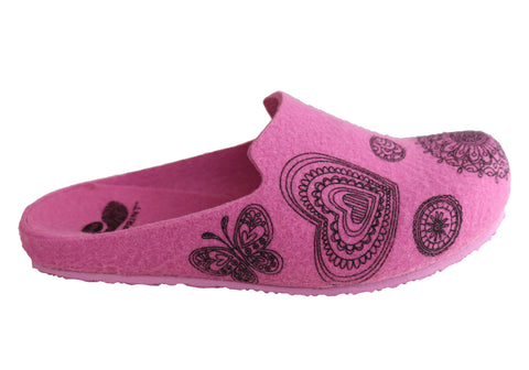 Scholl Bioprint Lisa Womens Comfort Supportive Spanish Slippers