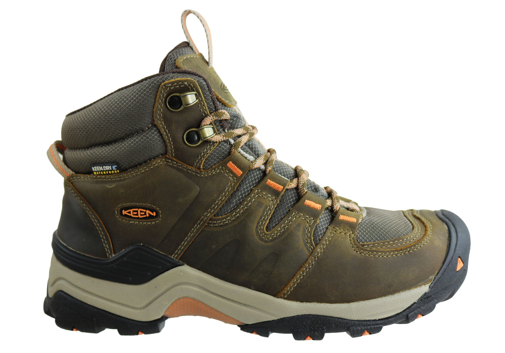 Keen Gypsum II Mid Waterproof Womens Wide Fit Hiking Boots  8e436cac26