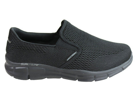 Skechers Mens Equalizer Double Play Wide Fitting Memory Foam Casual Shoes