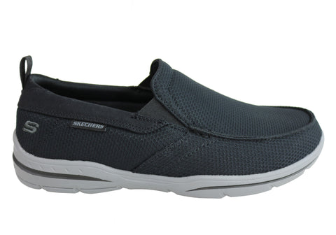 Skechers Mens Harper Walton Relaxed Fit Memory Foam Casual Shoes