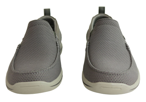 Details about Brand New Skechers Mens Harper Walton Relaxed Fit Memory Foam Wide Fit Shoes