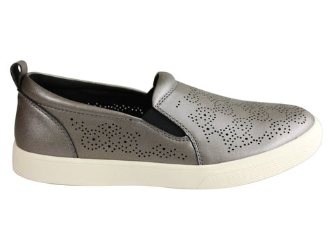 Scholl Orthaheel Yuma Womens Supportive Comfort Slip On Casual Shoes