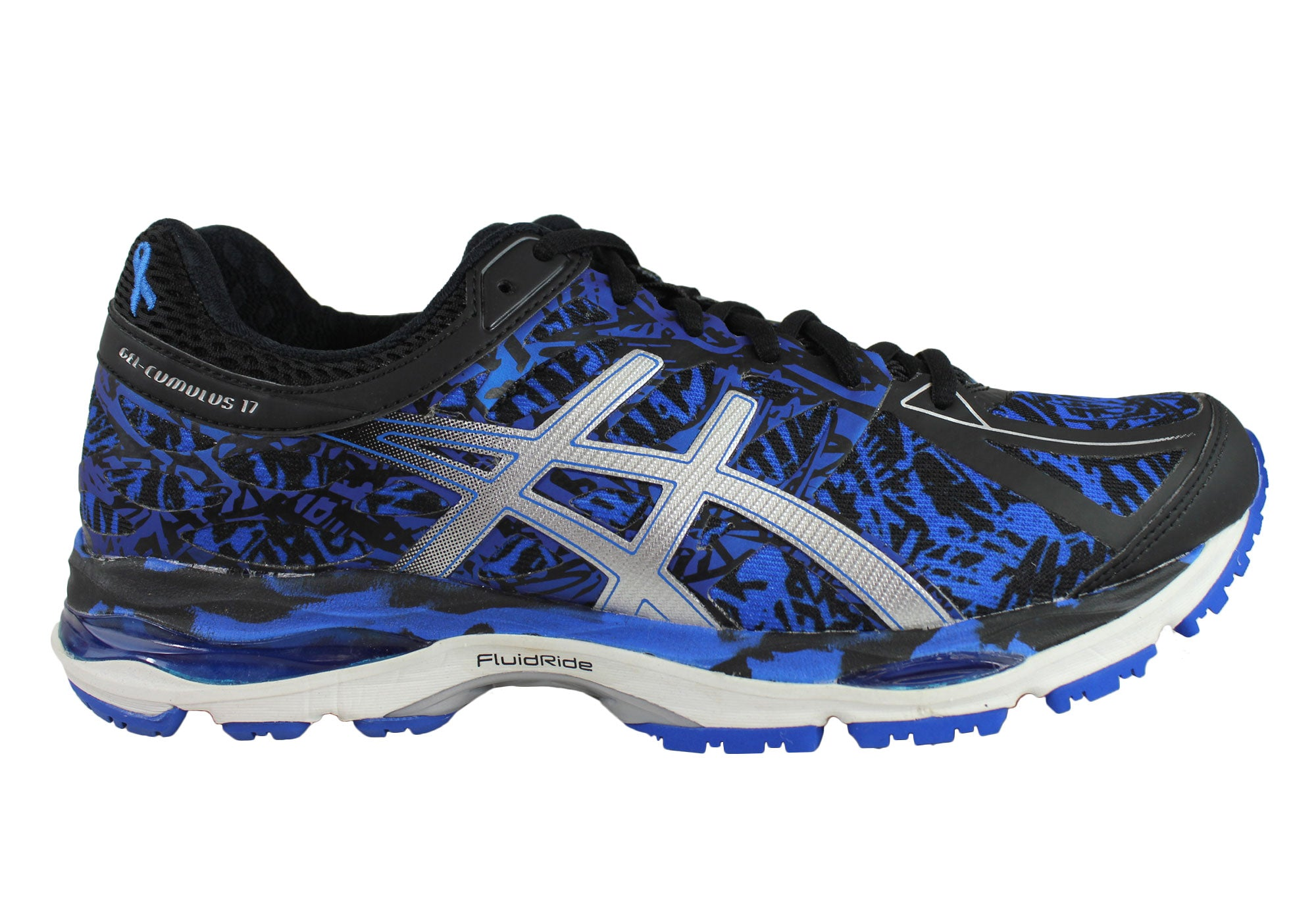 low priced c4651 bc2d5 Home Asics Gel-Cumulus 17 Br Mens Cushioned Sport Running Shoes. Sale ends  in 19 days, 6 hours, 58 minutes, 29 seconds. Blue  ...