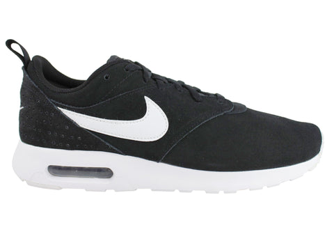 Nike Mens Air Max Tavas Leather Suede Mens Air Cushioned Sport Shoes