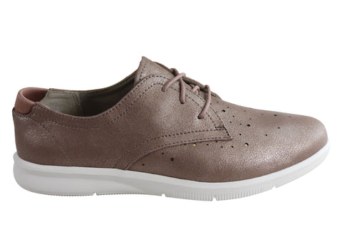 Rockport Womens City Lite Ayva Oxford Leather Comfort Casual Shoes