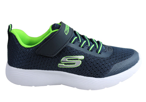 Skechers Boys Kids Dyna Lite Comfortable Memory Foam Athletic Shoes
