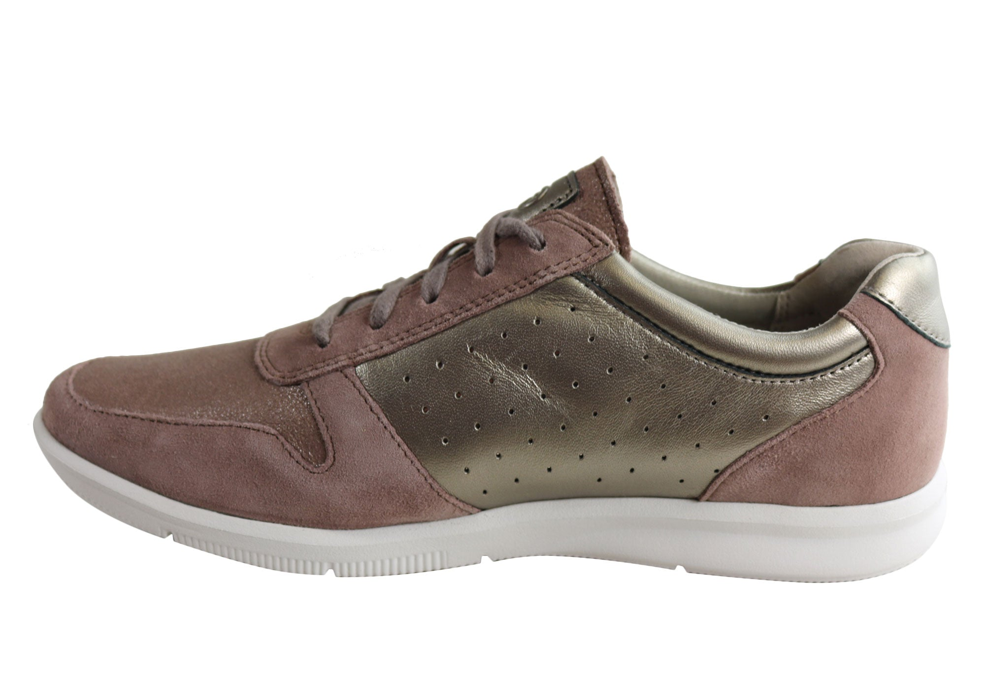 Rockport Womens City Lite Ayva Tie Leather Comfortable Casual Shoes