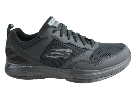 Skechers Mens Burst Tr Halpert Comfortable Memory Foam Shoes