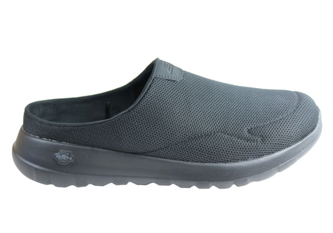 Skechers Mens Go Walk Max Talent Comfortable Open Back Casual Shoes