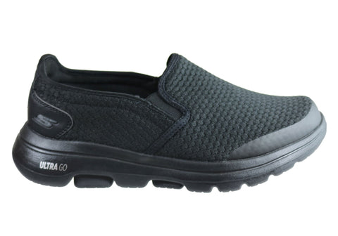 Skechers Mens Go Walk 5 Apprize Extra Wide Fit Comfort Casual Shoes