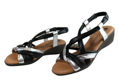 Lola Canales Eve Womens Comfortable Soft Leather Sandals Made In Spain