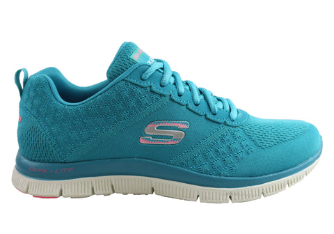 Skechers Flex Appeal Simply Sweet Womens Memory Foam Sneakers