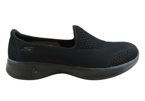 Skechers Go Walk 4 Propel Womens Comfortable Slip On Casual Shoes