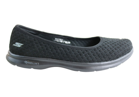 Skechers Go Step Perky Womens Comfortable Ballet Flat Cushioned Shoes
