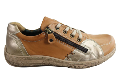 Orizonte Fargo Womens European Comfortable Soft Leather Casual Shoes