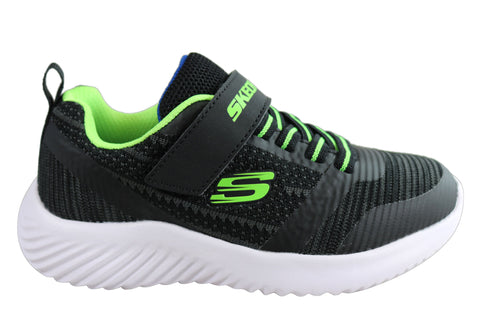 Skechers Boys Kids Bounder Zallow Comfort Memory Foam Athletic Shoes