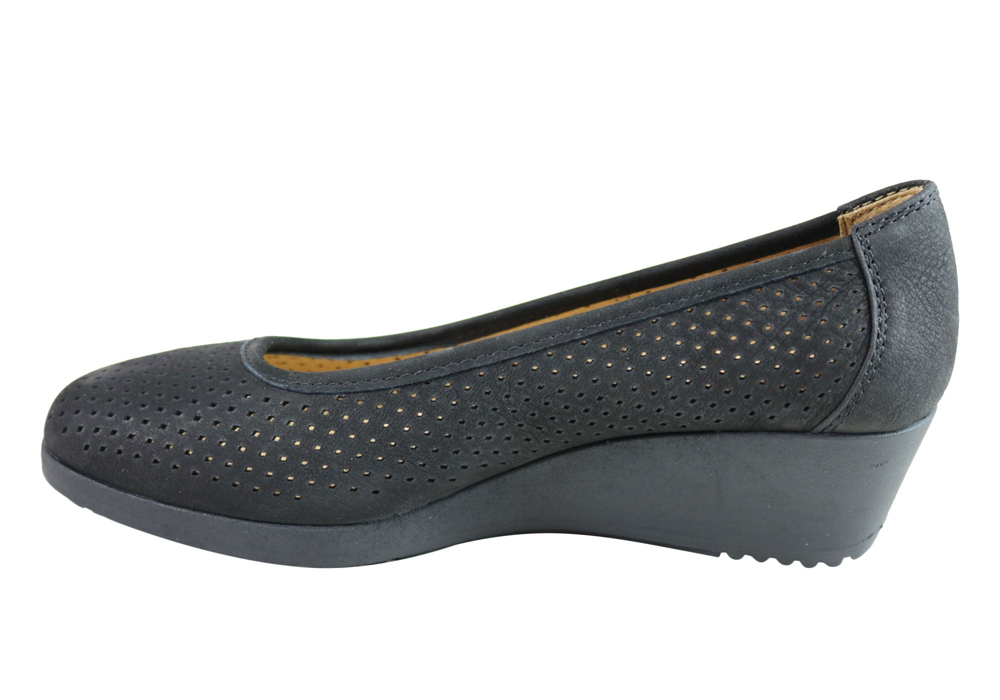 Naturalizer Womens Betina 2 Comfort Cushioned Low Wedge Pumps Shoes SSA