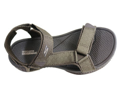 Skechers Mens Go Walk Outdoors Nature Comfort Adjustable Sandals