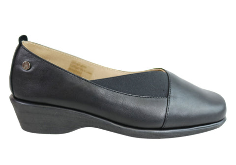 Flex & Go Olivia Womens Comfortable Leather Shoes Made In Portugal