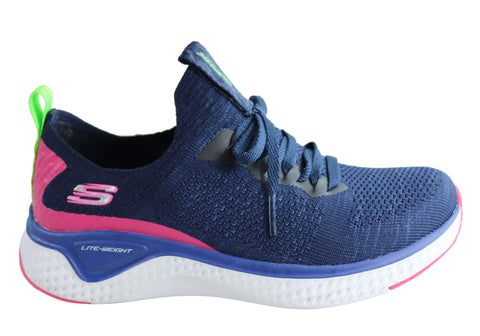 Skechers Womens Solar Fuse Comfortable Memory Foam Sneakers
