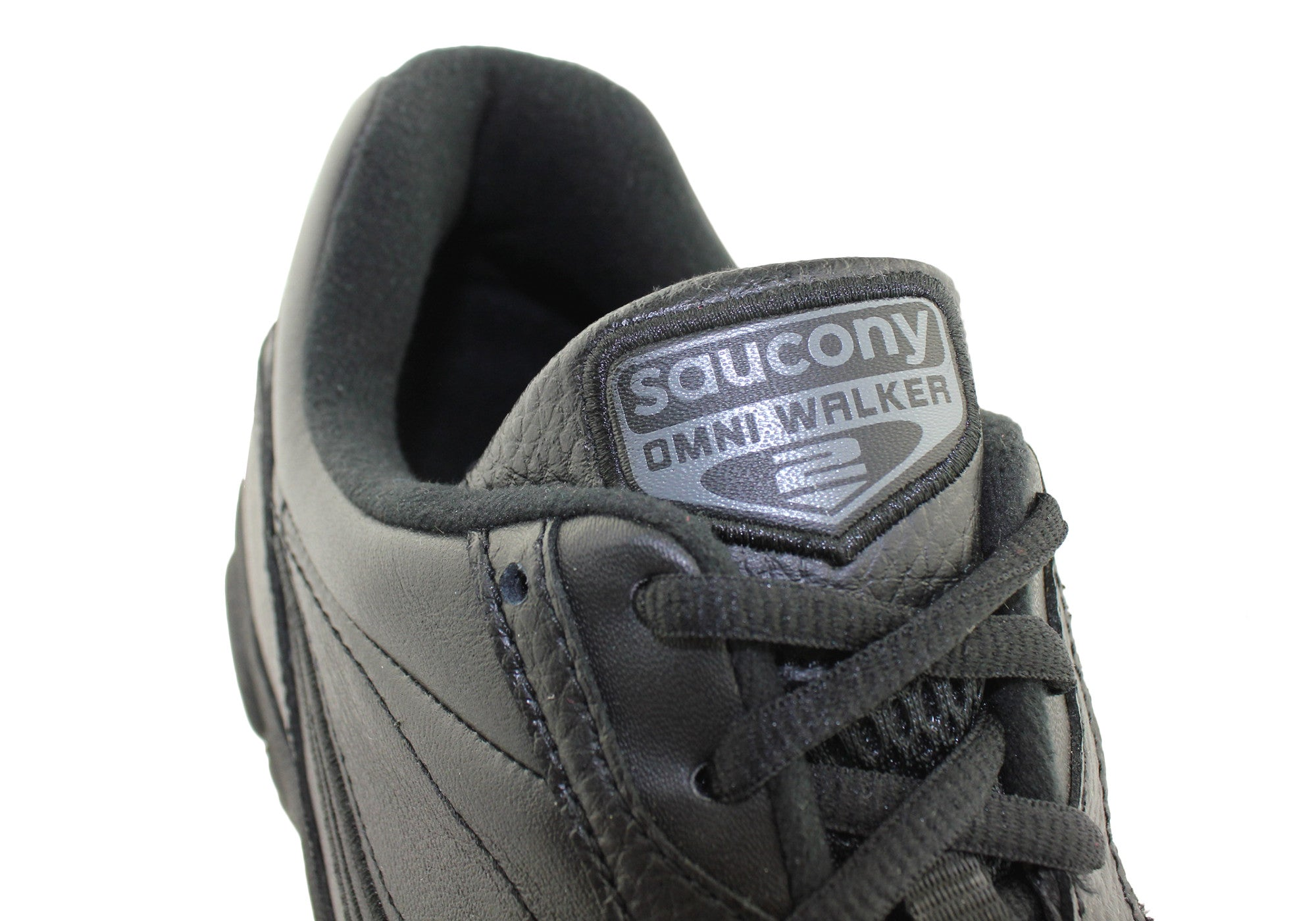 Saucony Omni Walker 2 Mens Wide Fit Leather Shoes