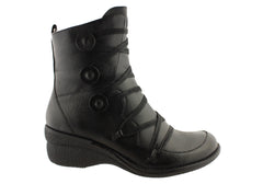 Miz Mooz Octavia Womens Premium Leather Boots