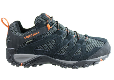 Merrell Mens Alverston Waterproof Comfortable Hiking Shoes