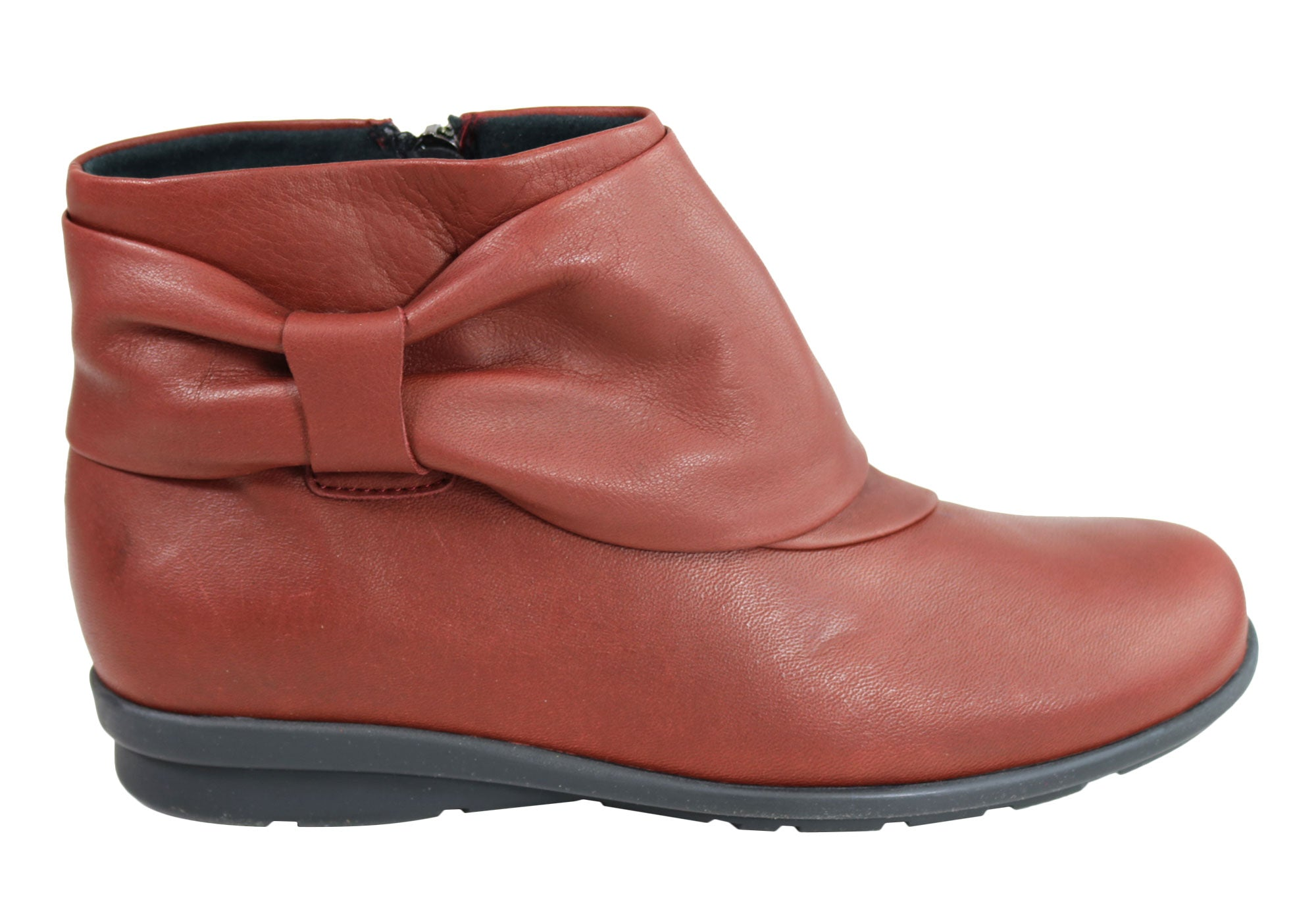 NEW-FLEX-amp-GO-WOMENS-COMFORTABLE-LEATHER-ANKLE-BOOTS-MADE-IN-PORTUGAL