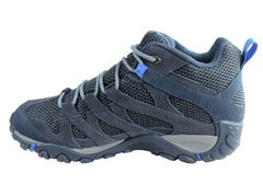 Merrell Mens Alverston Mid Waterproof Comfortable Hiking Shoes