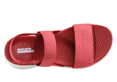 Skechers Womens On The Go 600 Cushioned Comfortable Flat Sandals