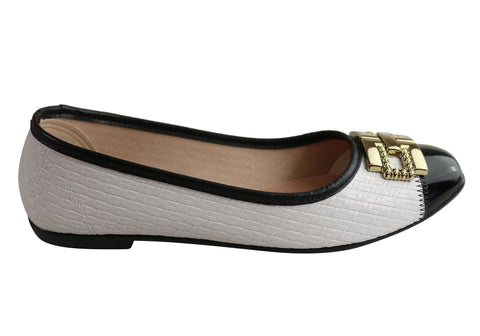 Donna Velenta By Moleca Edith Womens Comfy Flats Shoes Made In Brazil