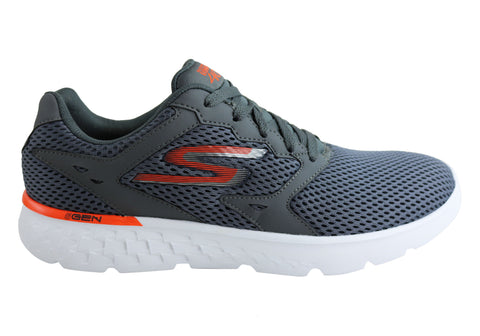 Skechers Go Run 400 Mens Premium Cushioned Athletic Shoes