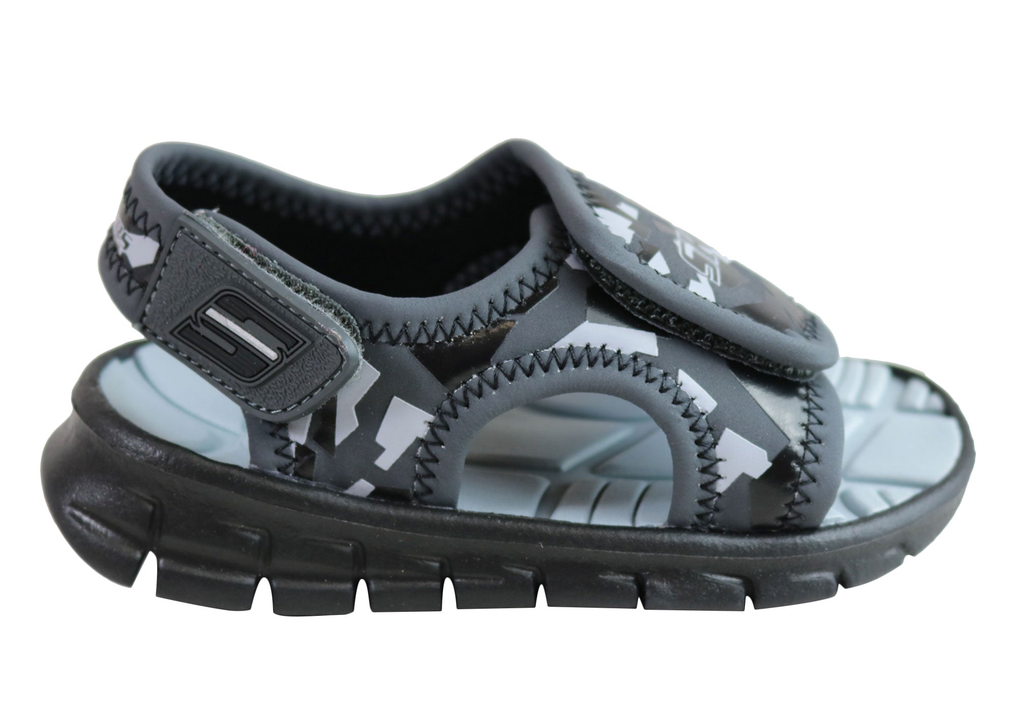 Skechers Infant Toddler Kids Cushioned Synergize Adjustable