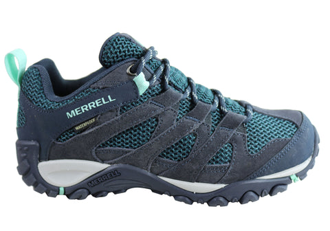 Merrell Womens Alverstone Waterproof Comfortable Hiking Shoes