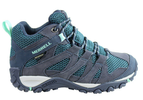 Merrell Womens Alverstone Mid Waterproof Hiking Shoes