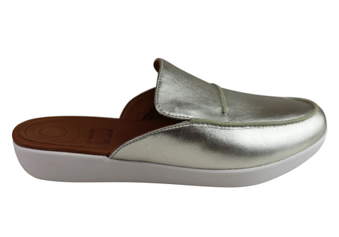 Fitflop Womens Selina Mule Serene Comfort Lightweight Slip On Mules